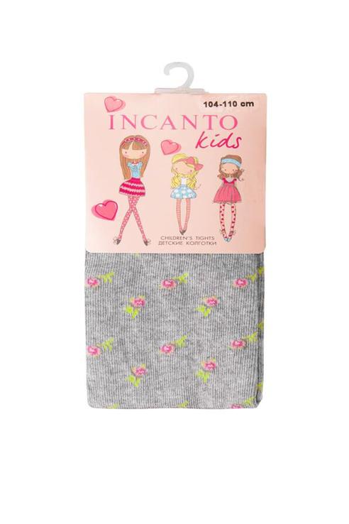 Купить FC00417, Колготки детские Incanto Kids, цв. серый р.104,