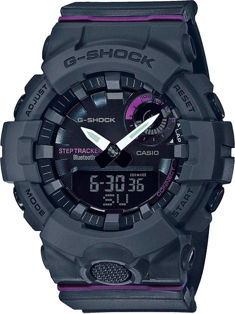 Японские спортивные наручные часы Casio G-SHOCK GMA-B800-8AER с хронографом фото