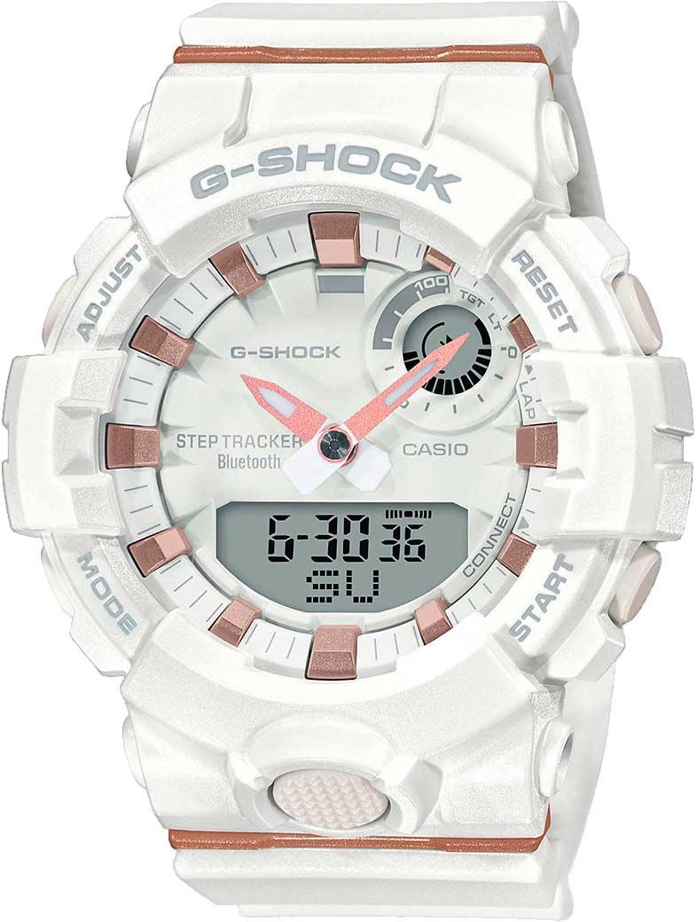 Японские спортивные наручные часы Casio G-SHOCK GMA-B800-7AER с хронографом фото