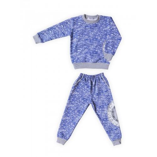 Купить 1746-01, Комплект для мальчиков Ciggo, цв. синий, р-р 122, Детские костюмы