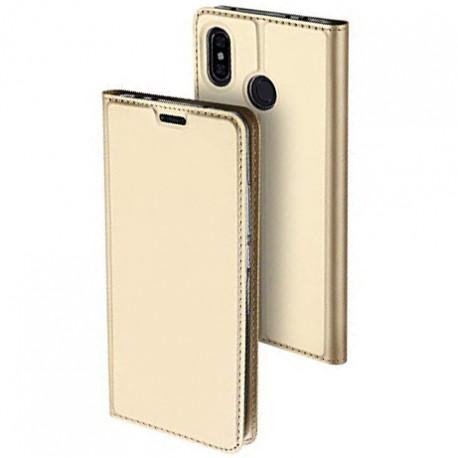Чехол Dux Ducis с карманом для Xiaomi Redmi Note 6 Pro Gold