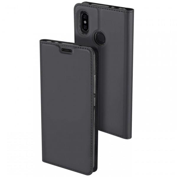 Чехол Dux Ducis с карманом для Xiaomi Redmi Note 6 Pro Grey