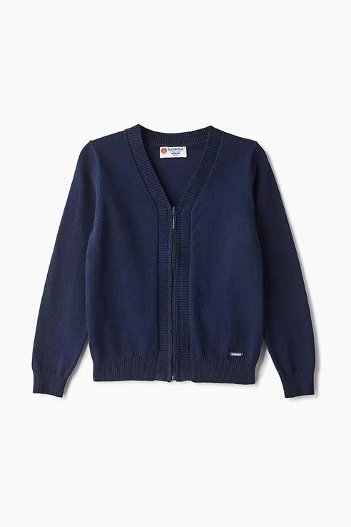 Купить 219BBBS35011000, Кардиган для мальчика Button Blue, цв.синий, р-р 158, Кардиганы для мальчиков
