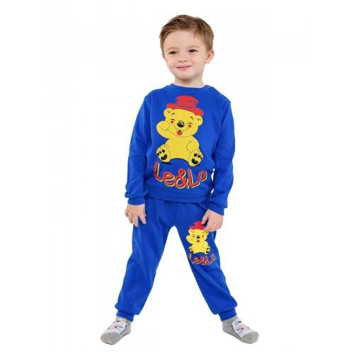 Купить 2026-01, Комплект для мальчиков LELO, цв. синий, р-р 104, Детские костюмы