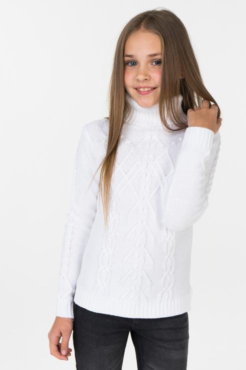 Свитер Acoola 20210320029 цв.белый р.158