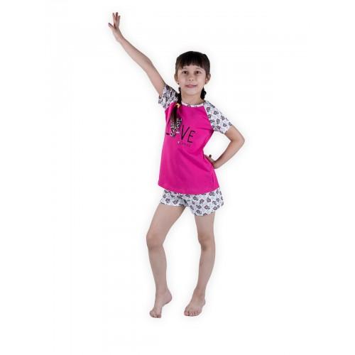 Пижама детская Miss Beautiful, цв. розовый р.116