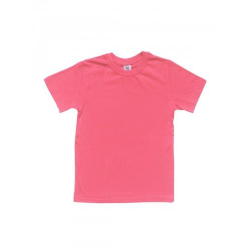 Футболка детская однотонная LELO, цв. розовый, р-р 146