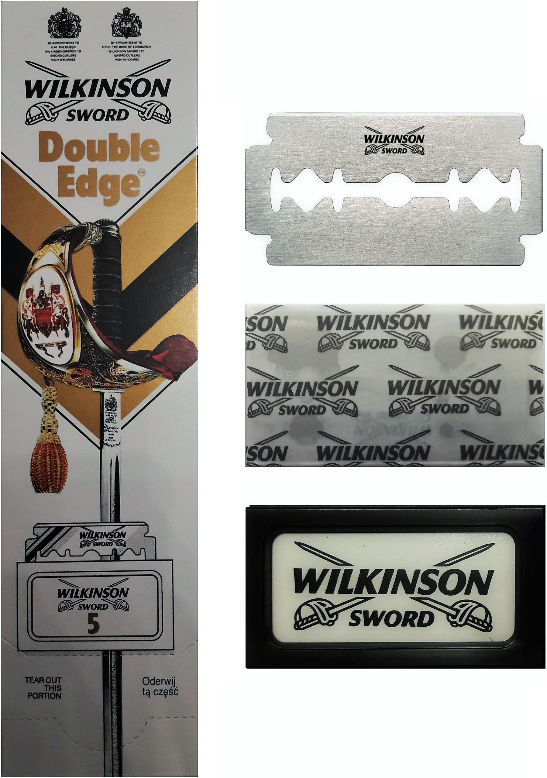 Wilkinson Sword Double*Edge /Сменные лезвия для