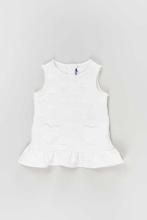 Купить AUI1629NF_белый, Платье Original Marines AUI1629NF цв.белый р.68,