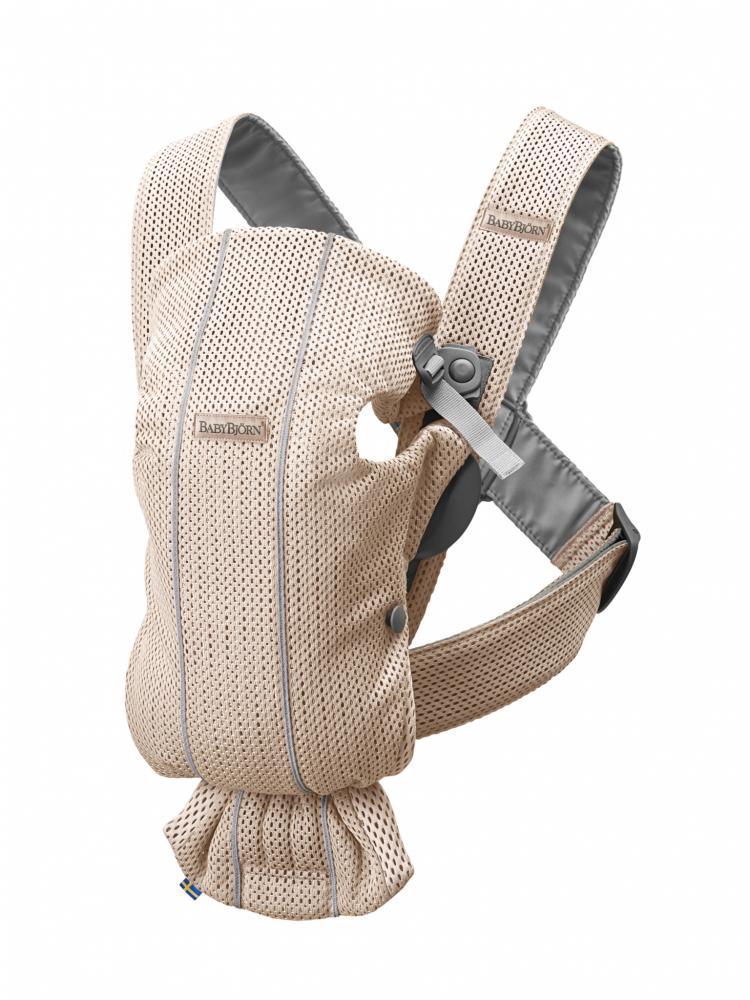 Рюкзак для переноски BabyBjorn Mini Mesh Жемчужно