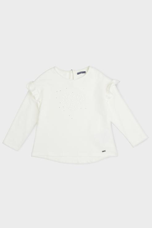 Купить AVP3004F1_белый, Блуза Original Marines AVP3004F1 цв.белый р.128,
