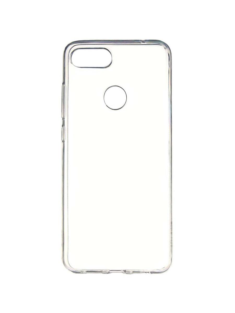 Чехол Zibelino Ultra Thin Case для Xiaomi Mi8 Lite, ZUTC-XIA-Mi8LT-WHT  - купить со скидкой
