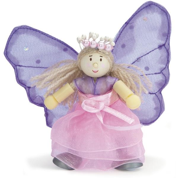Купить Кукла Le Toy Van BK762 Фея бабочек Флеур, Классические куклы