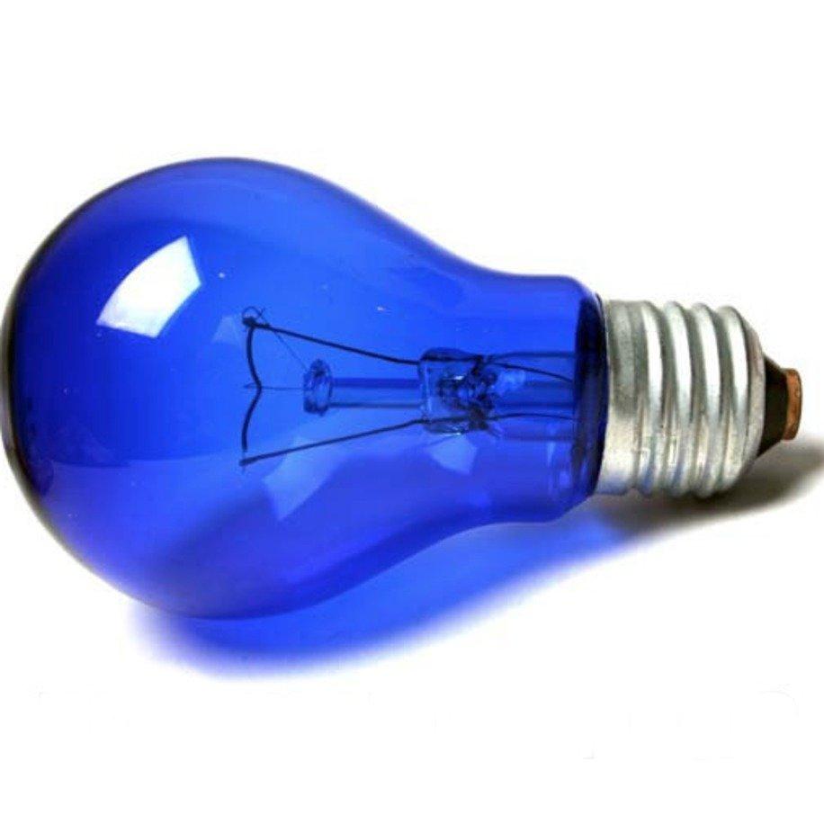 Лампа накаливания Favor вольфрамовая cиняя
