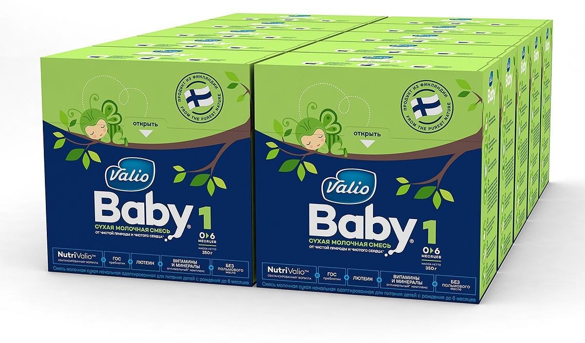Молочная смесь Valio Baby №1, 10