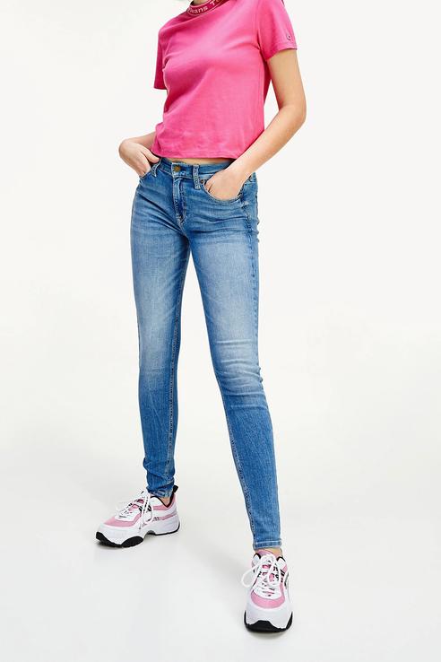 Джинсы женские Tommy Jeans DW0DW08089 голубые 26/32
