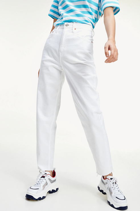 Джинсы женские Tommy Jeans DW0DW08106 белые 27/32
