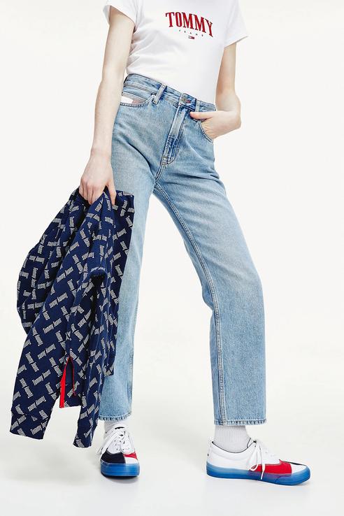 Джинсы женские Tommy Jeans DW0DW08118 голубые 28/32