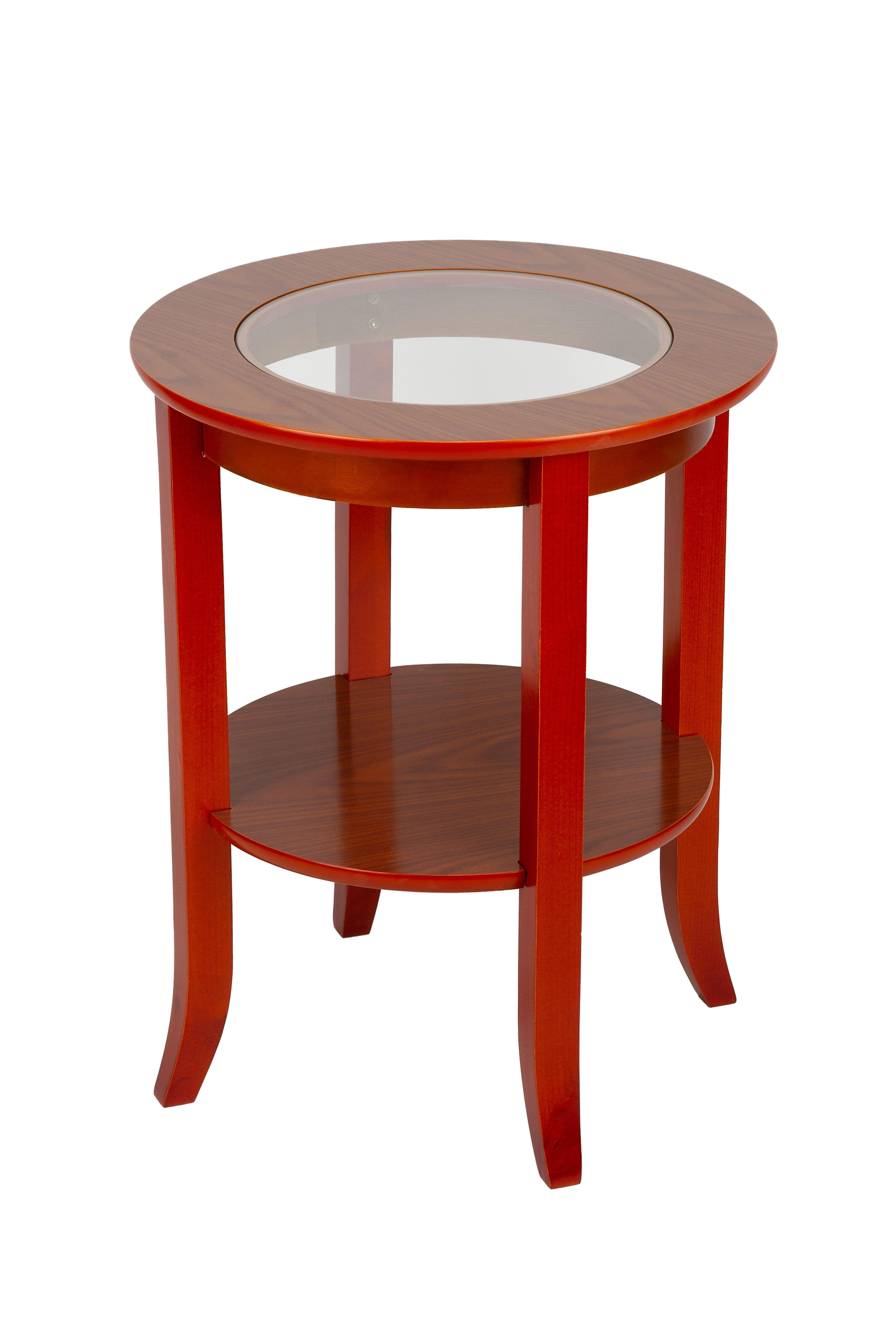 Журнальный стол BORTEN MH301 OAK, красно коричневый