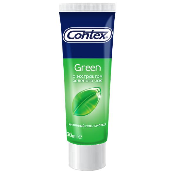 Купить Green с антиоксидантом, Гель-смазка Contex Green 30 мл