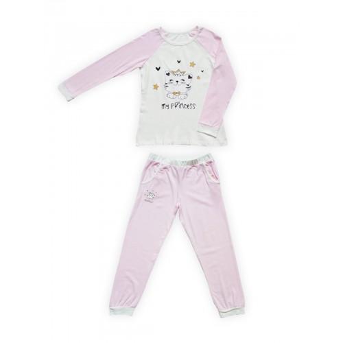 Пижама детская Miss Beautiful, цв. розовый р.104