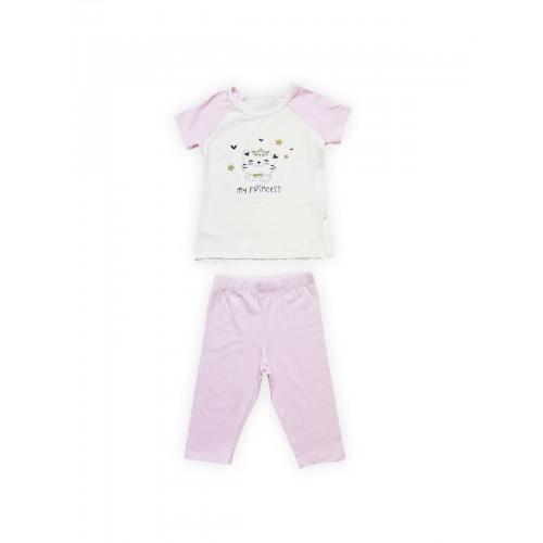 Пижама детская Miss Beautiful, цв. розовый р.128