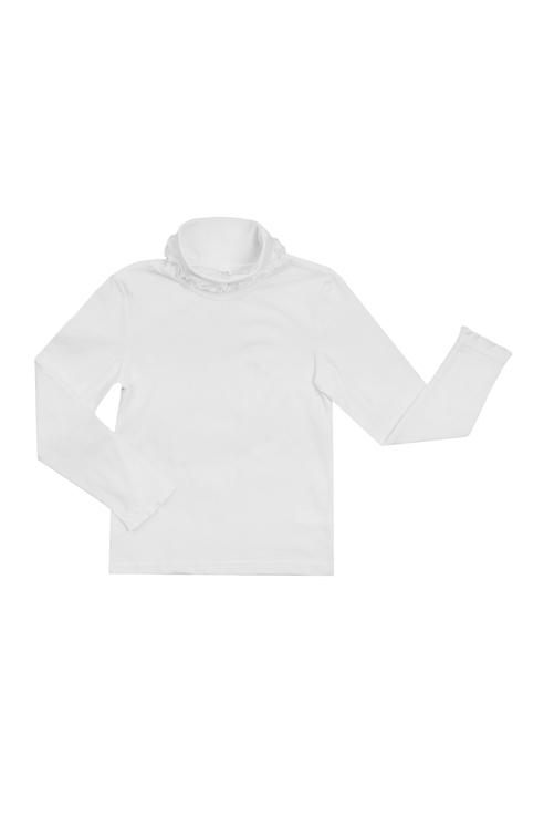Водолазка для мальчика Утенок, цв.белый, р-р 110