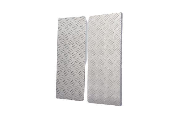 Комплект спецпокрытия багажника из алюминия (для