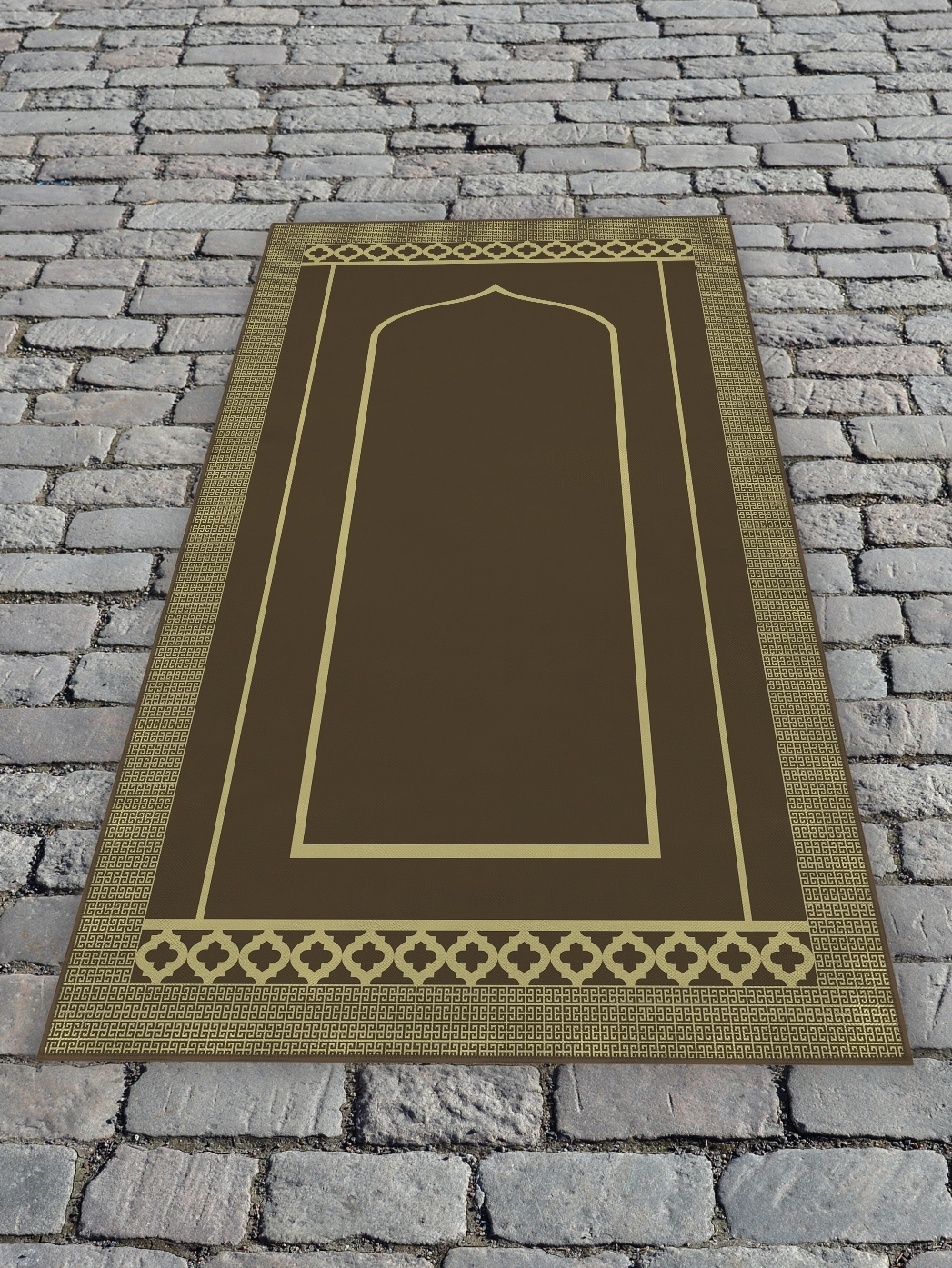 Молельный коврик 65х120 см Коричневый DekorTex 650354