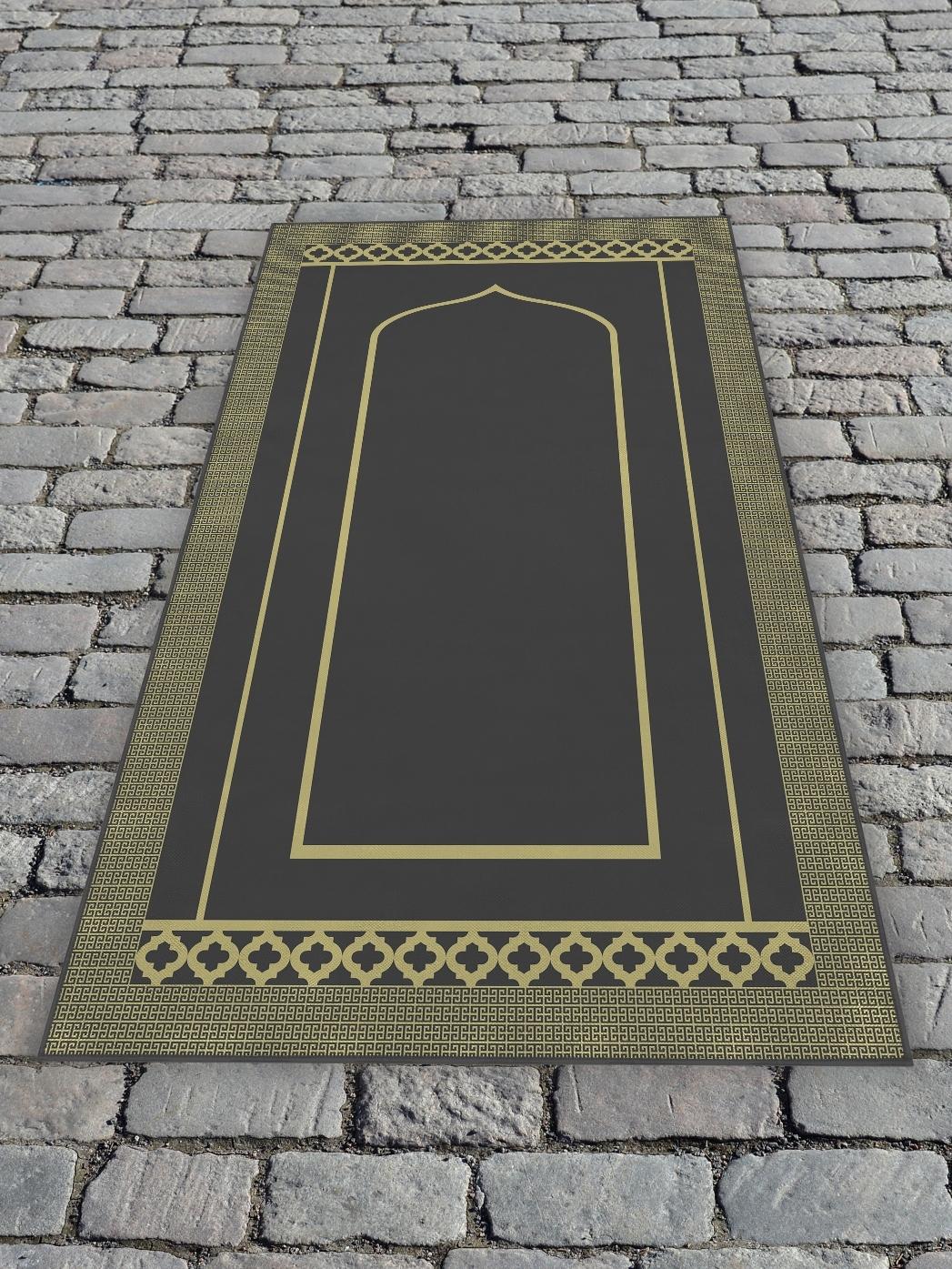 Молельный коврик 65х120 см Серый DekorTex 650356