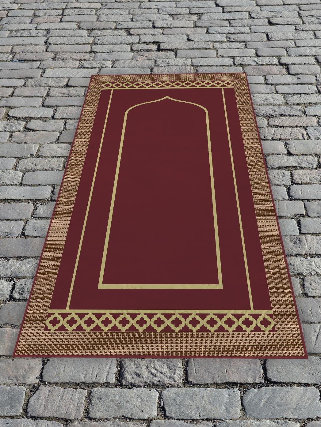 Молельный коврик 65х120 см Бордовый DekorTex 650357