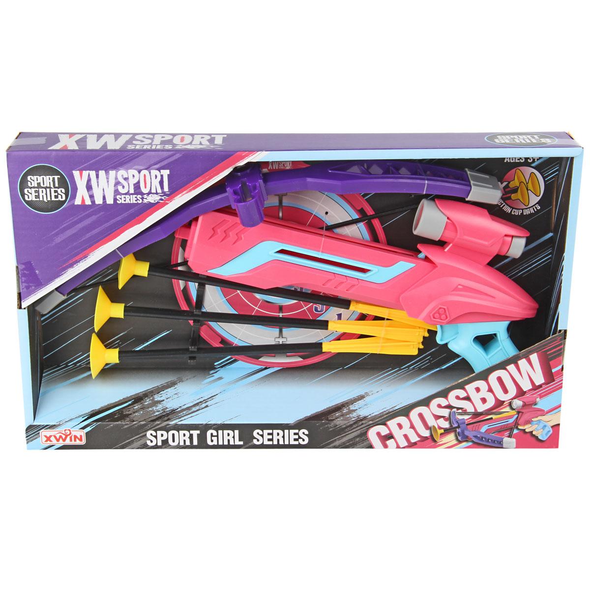 Арбалет игрушечный Veld со стрелами на присосках,