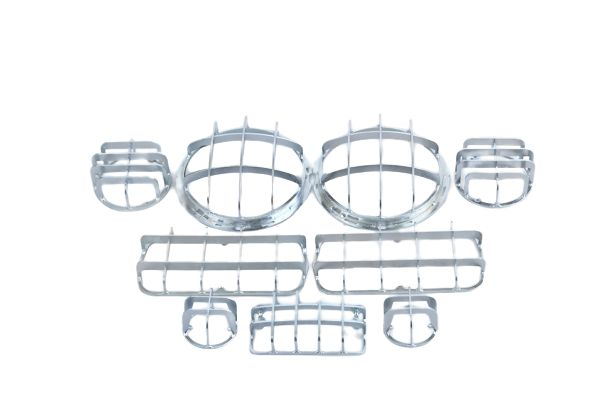 Комплект защитных решеток фар (для а/м
