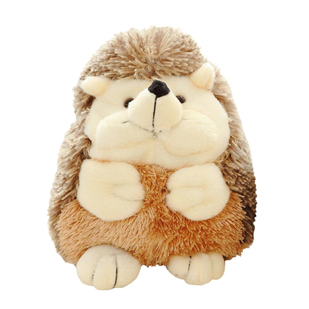 Купить Мягкая игрушка ежик Baby Fox BF-STOY-20, цвет коричневый, 23х10х8 см, Мягкие игрушки животные