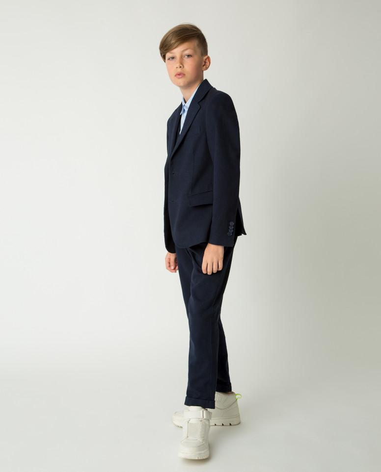 Купить Синий пиджак Gulliver, модель 220GSBC4802, размер 140,
