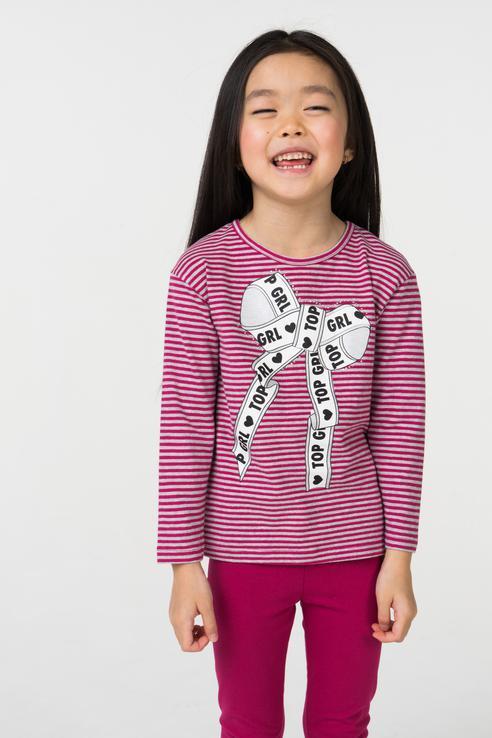 Купить 4.V646.00, Джемпер для девочки iDO, цв.розовый, р-р 86, Кофточки, футболки для новорожденных