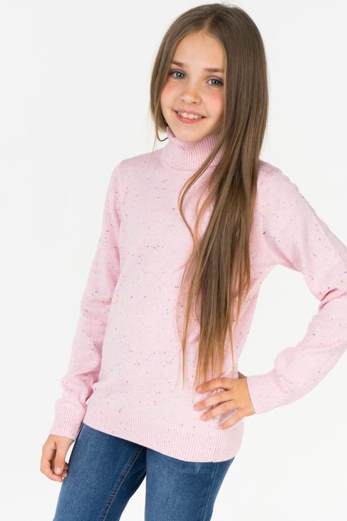 Джемпер для девочки PlayToday, цв.розовый, р