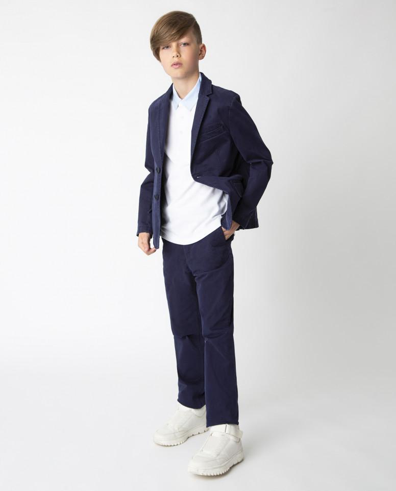 Купить Синий пиджак Gulliver, модель 220GSBC4804, размер 140,