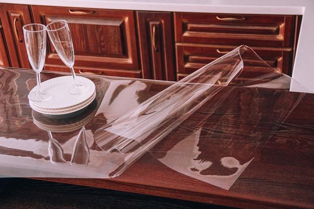 Домовой Прошка. Пленка ПВХ 140х160 Гибкое стекло