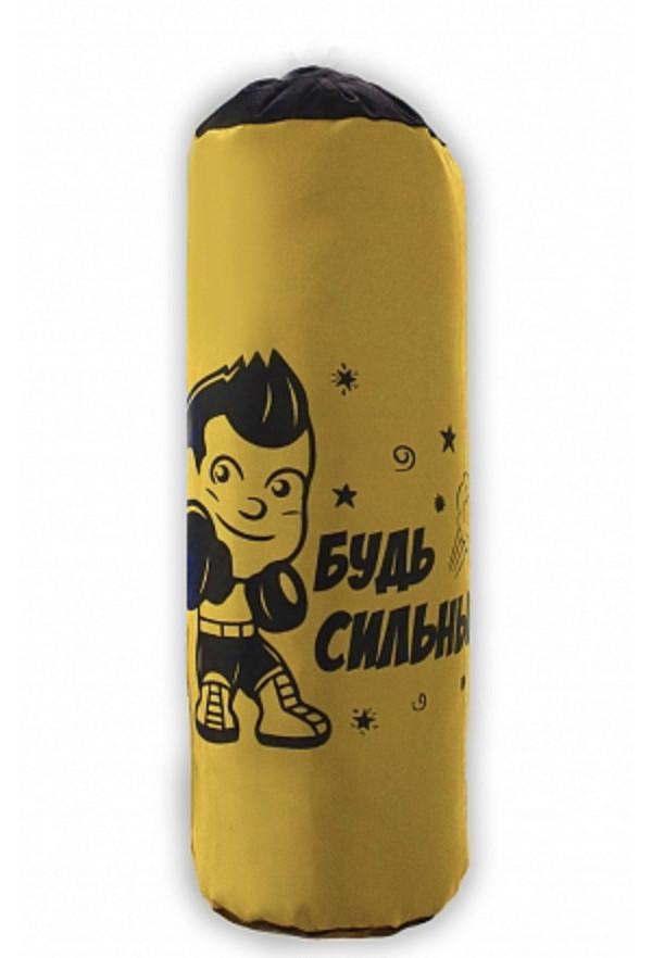 Боксерская груша Belon Будь сильным! цвет желтый,