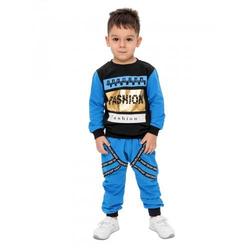Купить 2012-01, Комплект для мальчиков Ventilo, цв. синий, р-р 104, Детские костюмы