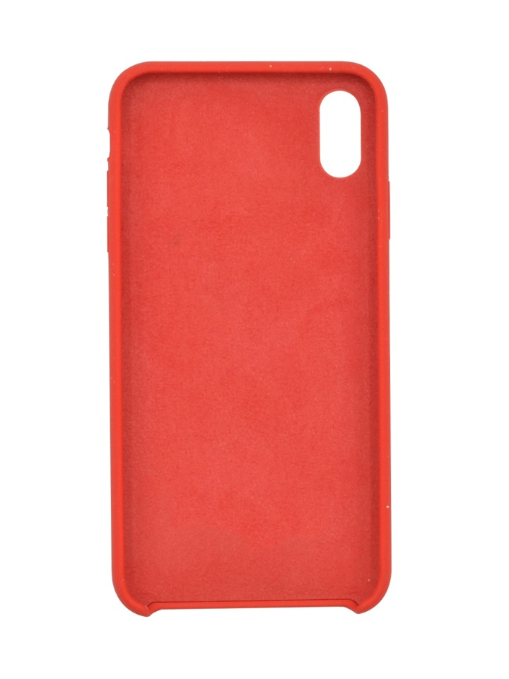 Чехол Silicone case для iPhone XS Max Red  фото