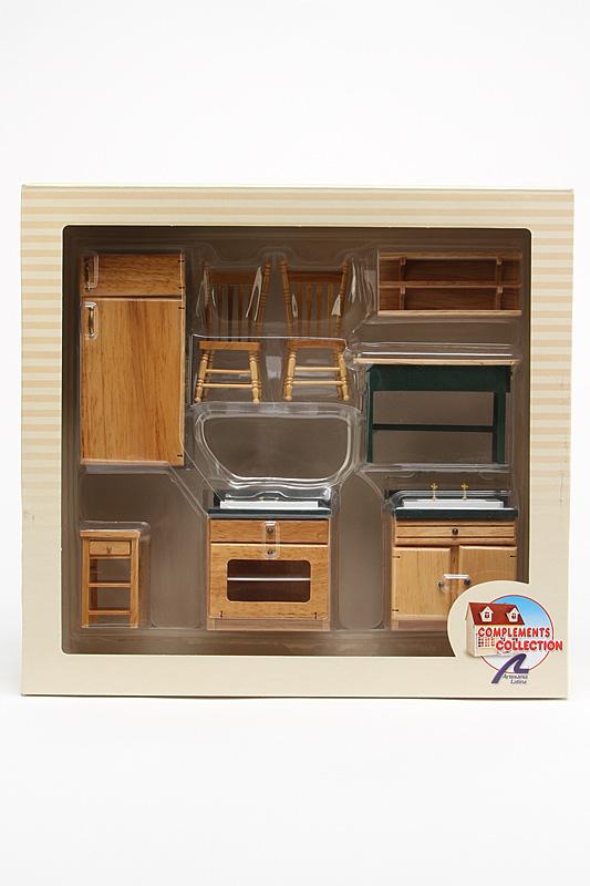 Набор «Кухонный гарнитур №2» Artesania Latina 10877, Мебель для кукол  - купить со скидкой