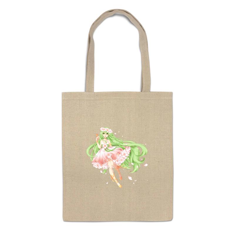 Сумка-шоппер Printio Цветочная фея.