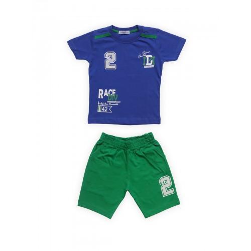 Купить 3037-01, Комплект для мальчиков Ciggo, цв. синий, р-р 122, Детские костюмы
