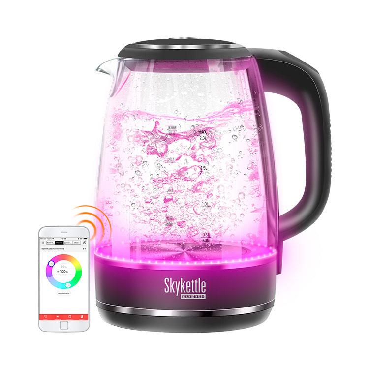 Умный чайник светильник Redmond SkyKettle G200S Black
