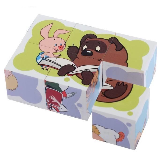 Купить Кубики Десятое Королевство Союзмультфильм Любимые герои 2, 6 шт., Развивающие кубики