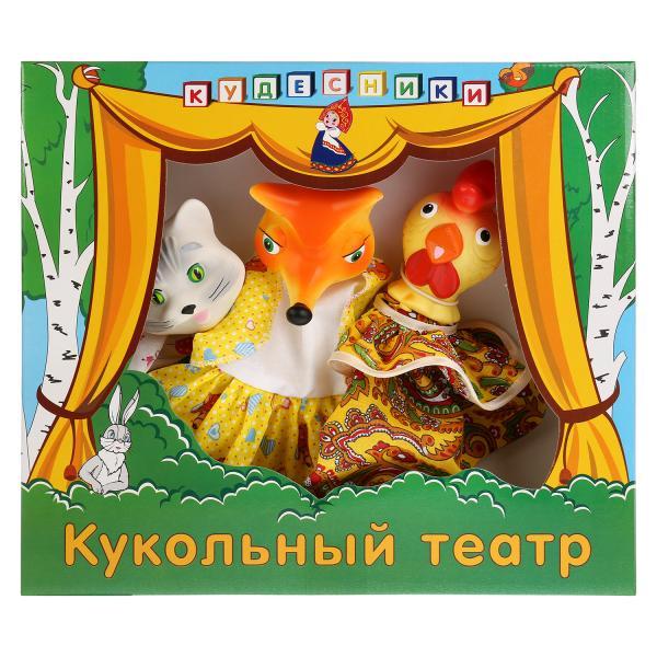 Кукольный театр ПКФ Игрушки Кот, лиса и петух