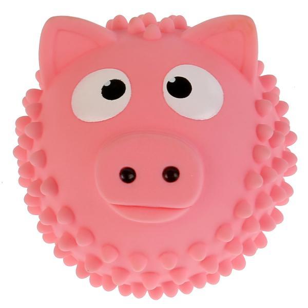 Купить Игрушка для купания Мячик-свинка, розовый, 8 см Играем Вместе,