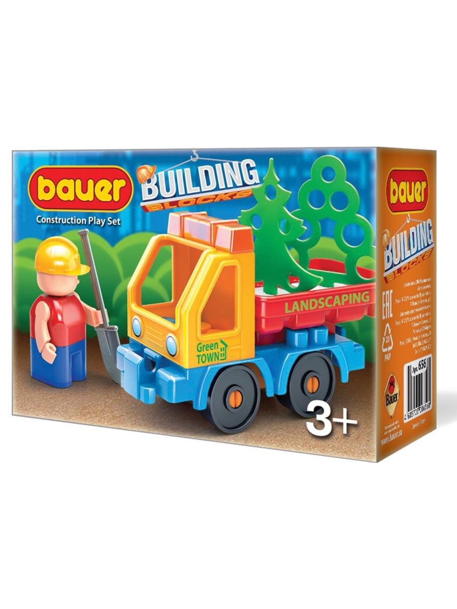 Купить Конструктор Bauer Стройка с грузовиком, Конструкторы пластмассовые
